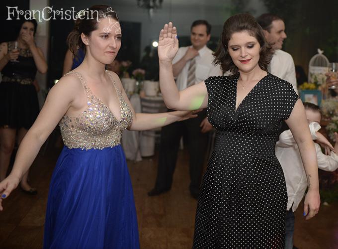Eu e Franciele Maria dançando como se não houvesse amanhã (e ninguém vendo também HAHA)