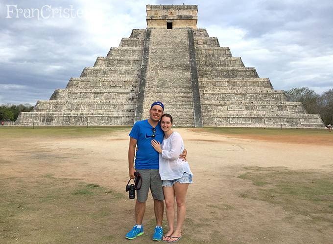 Na Lua de Mel, em Chichén Itzá