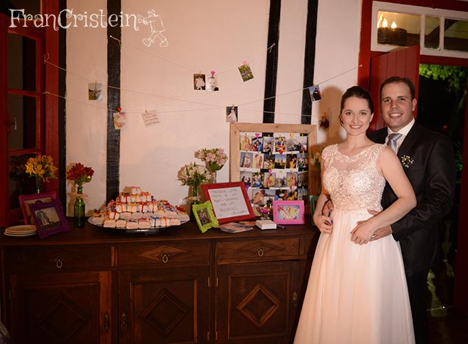 A mesa dos bem-casados and fotinhos