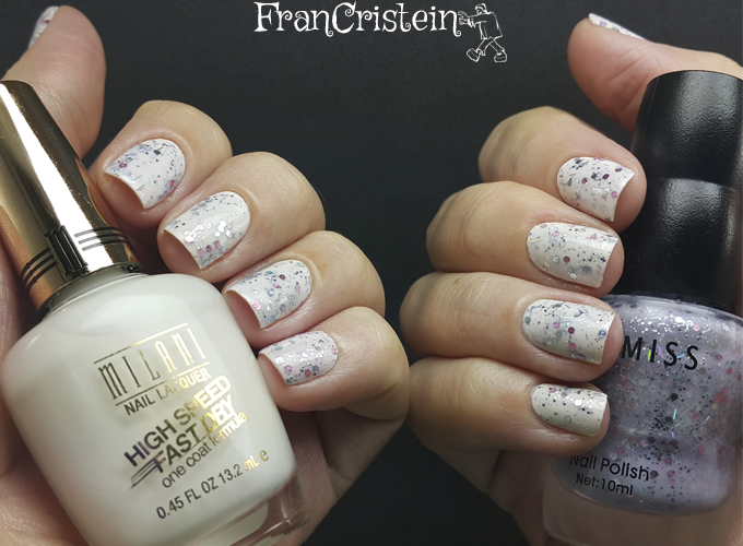 Milani white on the spot + Cosmiss 02