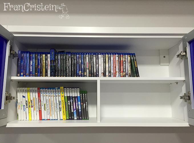 Blu-rays e jogos de videogame